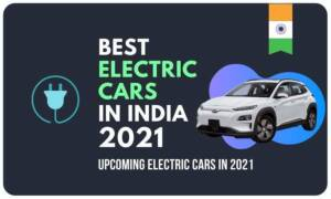 best electric car in india in 2021 is white hyundai Kona electric which has the highest mileage in electric car in India