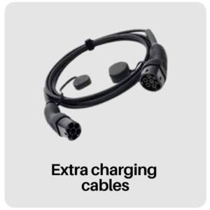 tesla electric car extra charging cables in best tesla accessories