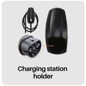 best electric car charging station holder in best tesla electric car accessories
