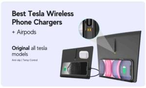 all the best wireless phone chargers for tesla electric car